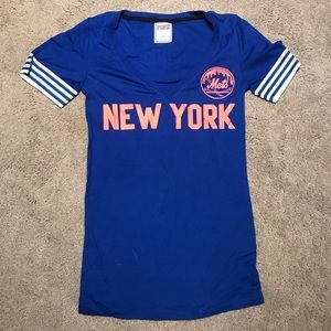 MLB new your Mets PINK t shirt